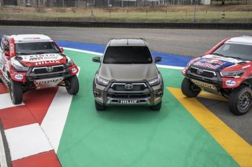 TOYOTA GAZOO Racing TO FIELD FOUR NEW HILUX AT 2021 DAKAR RALLY