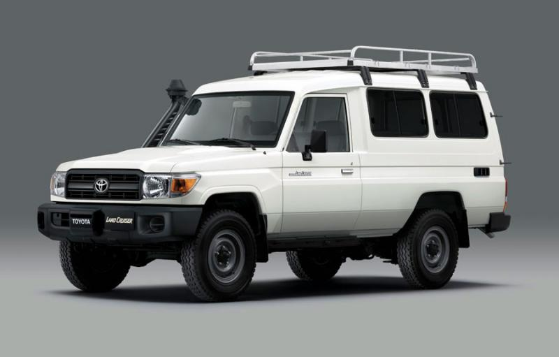The Land Cruiser 78 - a refrigerated vaccine transport vehicle to support the fight against COVID-19
